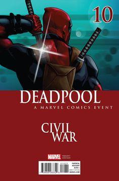 Deadpool #10 Andrasofszky Variant Marvel Comics (2016)