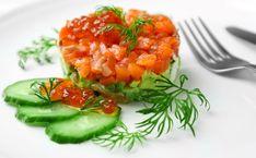 [Spécial #RawFood🍴]  10 recettes à dévorer toutes crues !  #tagliatelles #carpaccio #involtini #boeuf #tataki #thon #saumon #salade #tartare #concombre #avocat #ceviche Carpaccio, Ceviche, Risotto, Stuffed Peppers, Vegetables, Ethnic Recipes, Food, Cucumber, Tomatoes