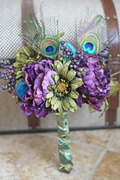 MADE TO ORDER  Peacock Wedding Bridesmaid by SouthernGirlWeddings, $55.00