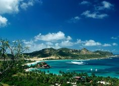 St. Barts, I've been here, it's looks just like the picture