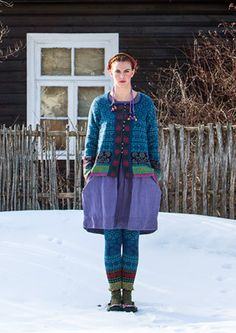 """""""Muhu"""" cardigan in cotton & wool – Inspired by Muhu – GUDRUN SJÖDÉN – Webshop, mail order and boutiques 