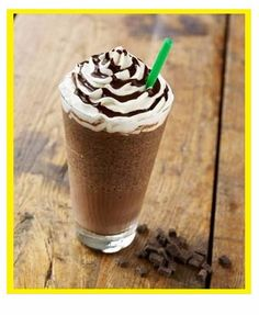 Secret to make Starbucks Double Chocolate Chip Frappuccino!!! Let's try!