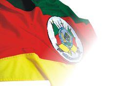 Bandeira do Rio Grande do Sul.