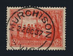 AUSTRALIA - 1937 - SG193 2d SCARLET CANCELLED CDS OF MURCHISON, VICTORIA