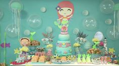 festa-infantil-sereia-isabella-inspire 2