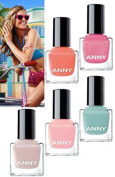 Brilhos da Moda: Coleção de Verão de Vernizes ANNY