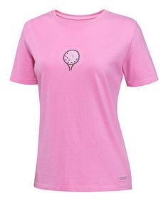 Peony Pink Golf Crusher Short-Sleeve Tee -  by Life is good®