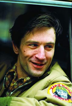 Rober De Niro on the set of Taxi Driver (1976). Photographed by Steve Schaprio