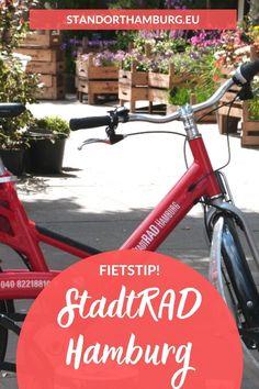 De beste manier om Hamburg flexibel en goedkoop te ontdekken? Fiets met een StadtRAD door Hamburg! Bekijk mijn tips op Standort Hamburg.