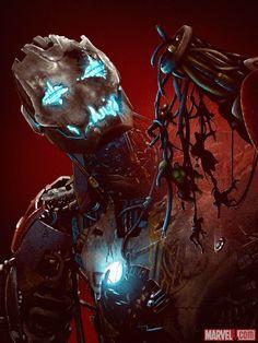 Marvel's 'Avengers: Age of Ultron' artwork by Adam Rabalais | HERO COMPLEX GALLERY
