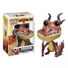 Cabezón Hookfang, 10cm. Como Entrenar a tu Dragón 2. Funko POP Movies Cabezón de 10cm perteneciente al próximo estreno de la película Como Entrenar a tu Dragón 2, con el Dragón Hookfang (dientepúa)
