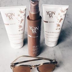 Missing the Summer days ? Prepare your skin with the Solar Care range by @yonkafr #yonka #phytotherapy #beauty #solarcare #sun