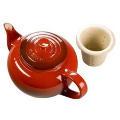 #Red #Stoneware #Tea #Teapot #Gift