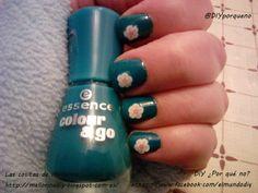 Estreno del nuevo esmalte de essence con decoración #fimo #uñas #nails #nailart