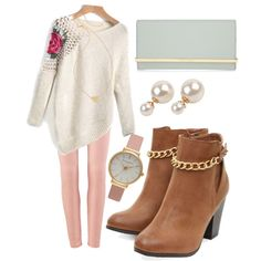 A fashion look from February 2015 featuring Henri Bendel wallets, Olivia Burton watches and Kate Spade necklaces. Browse and shop related looks.