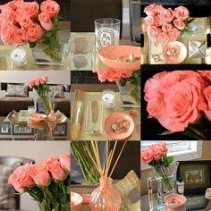 Navkbrar: Happy Valentine's Day!  Coral roses