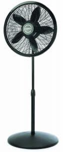 1827 Elegance and Performance adjustable elegance and performance pedestal fan quietly cools with three energy efficient speeds and features an elegant grill design. A great fan for the great room.