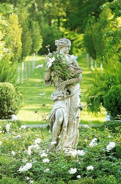 Inspiring fairytale garden ideas can be found in this article. Before that, we want to show you a few useful tips when it comes to arranging a beautiful garden. A garden is supposed to… Continue Reading → Fairytale Garden, Enchanted Garden, Dream Garden, Garden Art, Herb Garden, Vegetable Garden, Purple Home, White Gardens, Small Gardens