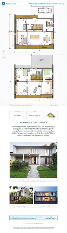 Ökohaus Mit Satteldach U2022 Musterhaus Functionality U2022 Sonnleitner  Holzbauwerke U2022 Jetzt Bei Musterhaus.net Kostenlos