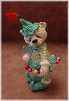 Cute minature teddies, patterns to buy