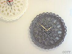 Ravelry: Crochet Clock pattern by Ooty Yaacobi