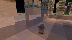 Orphea2012 Youtube et Minecraft: Minecraft / Une poule dans le temple la nuit