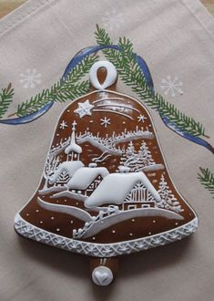 Christmas Sugar Cookies, Christmas Sweets, Christmas Goodies, Holiday Cookies, Christmas Baking, Gingerbread Cookies, Fancy Cookies, Iced Cookies, Cute Cookies