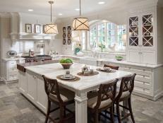 Our 40 Favorite White Kitchens | HGTV