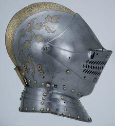 Authentic Vintage German Close Helmet (1590 A.D.)