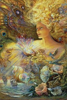 Crystal of Enchantment Josephine Wall 24x36 Art Photo Print Poster Limited High Quality Best Price , http://www.amazon.com/dp/B007X5HLZW/ref=cm_sw_r_pi_dp_stzIrb0S4AHWH