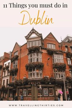 Are you heading to the Emerald Isle? Make sure you check out Dublin. Check This Dublin Ireland Travel Guide with the best things to do in Dublin, from pubs, to culture, history and more pubs. | Things to do in Dublin Ireland in one day| Ireland #dublin #dublinireland #thingstodo #ireland #irelandtravel #europetravel