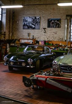 In the harbor of Cologne lies an unrivaled secret stash of Italian racing lore.