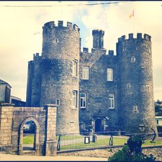 11th Century Irish Castle, Co. Wexford, Ireland