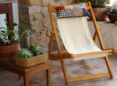 tie-on to a sling chair or hammock