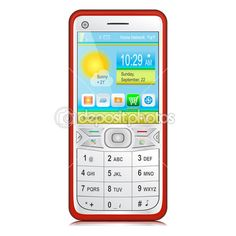 Smartphone with physical keyboard