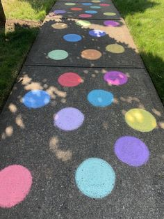 Walk this way Chalk Drawings, Sidewalk Chalk, Walk This Way, April Fools, Chalk Art, Activities, Drawing Ideas, Sarcasm, Outdoor Decor