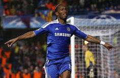 Didier Drogba gives Chelsea a precious lead to take to the Nou Camp for the  Champions League semi-final second leg. c9000299446a1