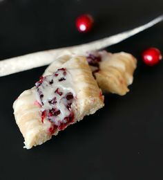Fresh Cranberry Butter Cookies #Christmascookies #cranberry