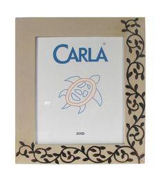 18,20€ Portafotos de madera blanco/marrón 20x25cm