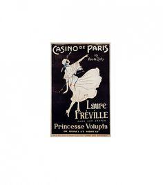 Giclee Casino de Paris Laure Freville Poster