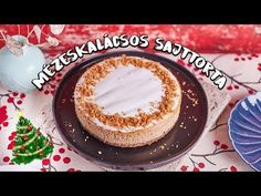 Karácsonykor jó választás valamilyen fűszeres édesség. A mézeskalácsos sajttorta, tele van téli fűszerekkel, és szerintünk isteni lett! Eat Dessert First, Tiramisu, Panna Cotta, Menu, Sweet, Ethnic Recipes, Food, Youtube, Life