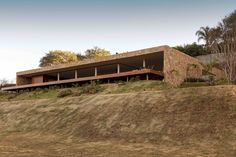 Gallery of House of the Stones / mf+arquitetos - 2