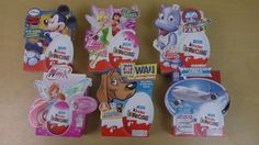 24Eggs Kinder Surprise Special Editions Unboxing, Front View