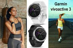 The Garmin Vivoactive 3 is a smart fitness watch with Contactless Payments feature and Wrist-based Heart Rate. Heart Rate, Fitness Tracker, Smartwatch, New Technology, Gadgets, Princess, Health, Sports, Christmas