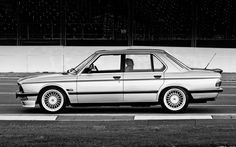 E28 BMW 5-series with Alpina Wheels.