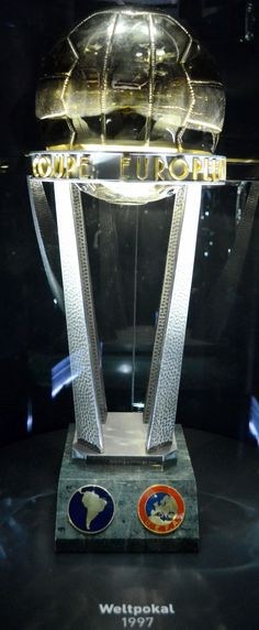 UEFA - CONMEBOL Intercontinental Cup  -- Trophy (International clubs, unofficial world cup for clubs) deprecated after 2004 http://en.wikipedia.org/wiki/Intercontinental_Cup_(football)