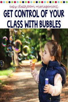 Behavior Management with Bubbles Classroom Control, Classroom Behavior, Preschool Classroom, Classroom Ideas, Classroom Management Techniques, Responsive Classroom, Self Regulation, Classroom Community, Behavior Management