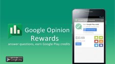 L'application Google Opinion Rewards est maintenant disponible sur le Plays… Application Google, App Share, Applications, Google Play, Android, How To Get, France, This Or That Questions, Money Matters