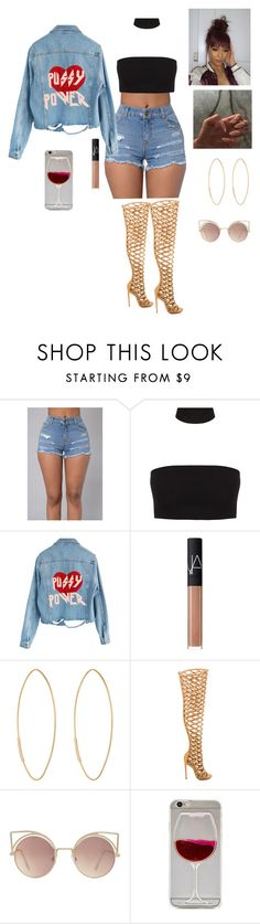 """""""childs play    Drake"""" by official-jamaya ❤ liked on Polyvore featuring High Heels Suicide, NARS Cosmetics, Lana, Privileged and MANGO"""
