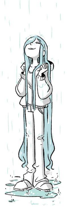 *As gotas de chuva sempre seram minhas amigas*